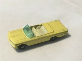 Vintage Lesney Matchbox #39 Pontiac Convertible Diecast Toy Vehicle