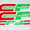 Custom Consolidated Freight Semi Truck Stickers Main Image
