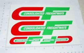 Custom Consolidated Freight Semi Truck Stickers