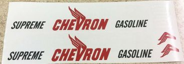 Custom Chevron Tonka/Smith Miller Semi Tanker Sticker Set Main Image