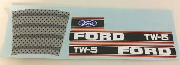 Ertl Ford TW-5 Pedal Tractor Replacement Sticker Set Main Image