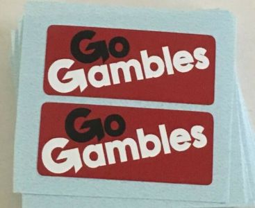 Nylint Chevy Go Gambles Pickup Truck Sticker Set Main Image