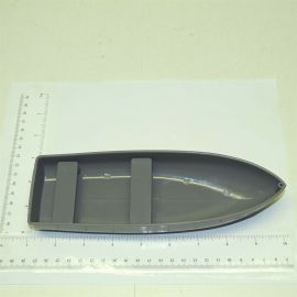 Tonka Gray Plastic Rowboat Accessory Replacement Toy Part