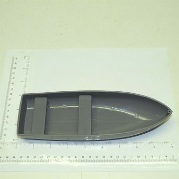 Tonka Gray Plastic Rowboat Accessory Replacement Toy Part Main Image
