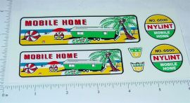 Nylint #6600 Mobile Home Truck/Trailer Stickers