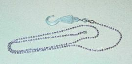 Wrecker Tow Truck Bead Chain Setup w/Custom Hook