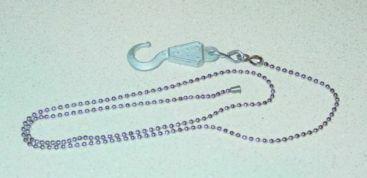 Wrecker Tow Truck Bead Chain Setup w/Custom Hook Main Image