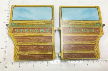 Wyandotte Toytown Estate Wagon Pressed Steel Side Door Replacements Main Image