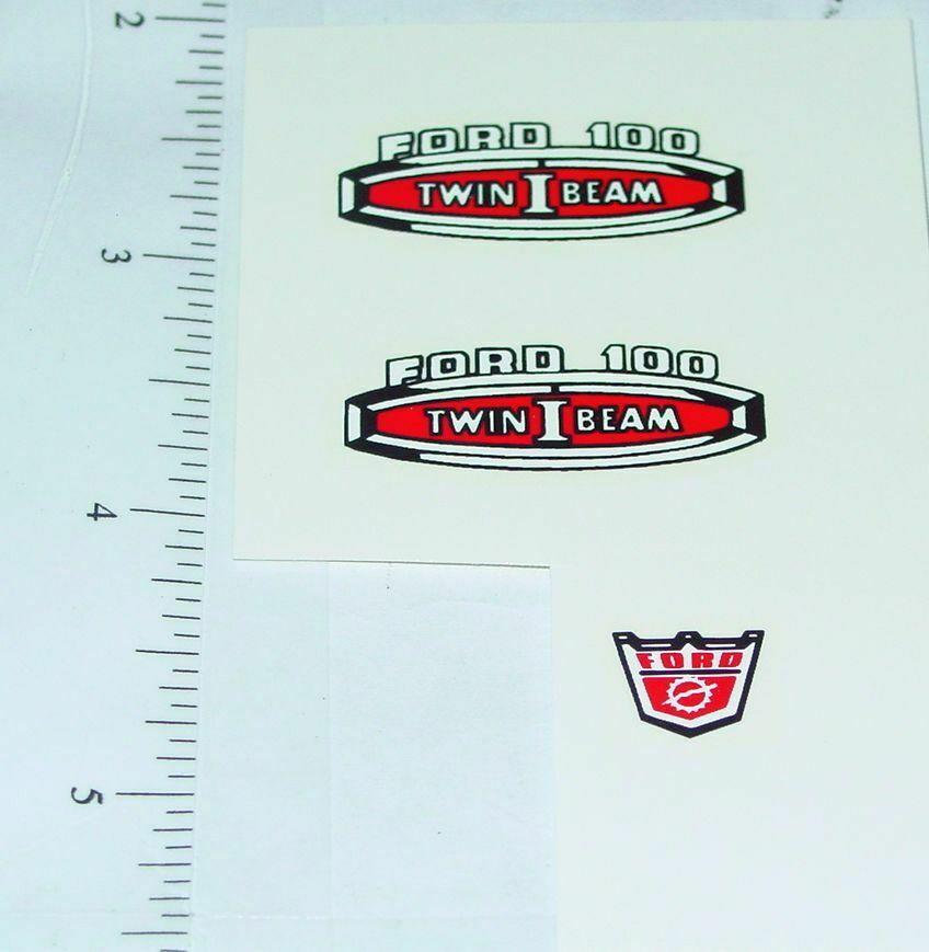 Nylint Cabover Ford Hiway Emergency Sticker Set    NY-008