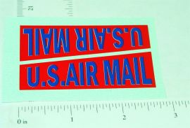 Kingsbury U.S. Air Mail Divco Van Sticker Set