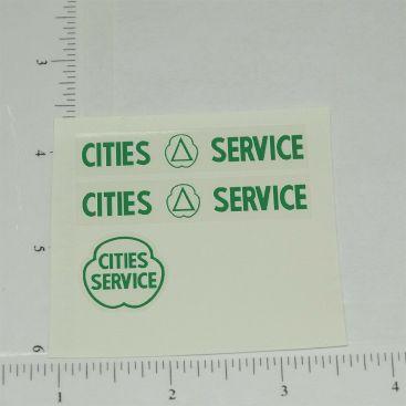 Tootsietoy Cities Service Sticker Set Main Image
