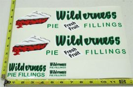 Wyandotte Wilderness Pie Fillings Private Label Semi Stickers