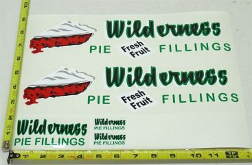 Wyandotte Wilderness Pie Fillings Private Label Semi Stickers Main Image