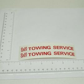 Ertl International Loadstar Tow Truck Stickers