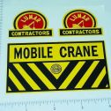 Marx Lumar Contractors Mobile Crane Sticker Set Main Image