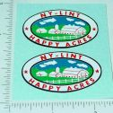 Nylint Happy Acres Farms Stake Truck Stickers Main Image