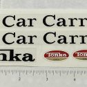 Tonka 1970 & 71 Car Carrier Truck Replacement Sticker Set Main Image