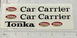 Tonka 1970 & 71 Car Carrier Truck Replacement Sticker Set