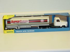 Vintage Ertl Semi, Phillips 66 SuperClean Gas, Tractor Trailer In Box