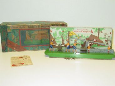 Wolverine Sunny Andy Kiddie Kampers No. 66 w/Orig Box, Steel Balls, Toy Topics Main Image