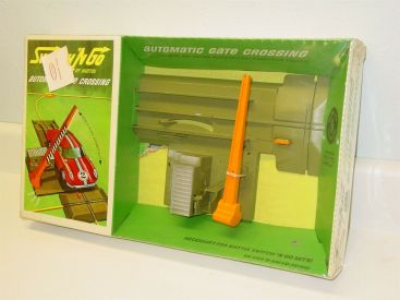 1965 Mattel Switch 'N Go Automatic Gate Crossing #6123 in Original Box, Sealed Main Image
