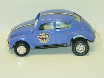 Vintage Tonka V.W. Beetle Car, JC Penny Race Team, Pressed Steel, Volkswagen Main Image