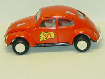 Vintage Tonka V.W. Beetle Car, Twinkle Toes Toronto Canada, Pressed Steel Main Image