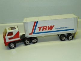 Vintage Tonka Mini TRW Automotive Parts Semi Truck And Trailer