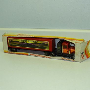Tonka The Tough Ones Kenworth Desert Express No 1460, Pressed Steel Toy in Box Main Image