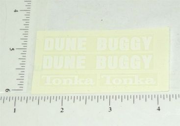 Mighty Tonka Dune Buggy Hood & Rear Side Stickers Main Image