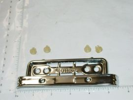 Tonka 1962-64 Zinc Plated Truck Grill & Headlight Replacement Toy Parts