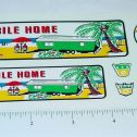 Nylint #6600 Mobile Home Truck/Trailer Stickers Main Image
