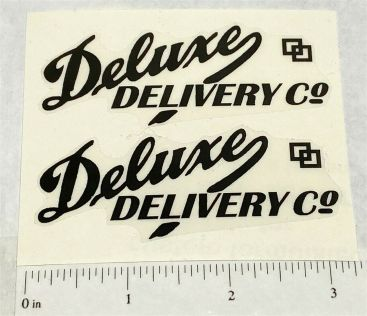 Marx Deluxe Delivery Truck Replacement Stickers Main Image