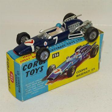Corgi Toys Cooper Maserati F/1 #156, Diecast Toy Vehicle in Box Main Image