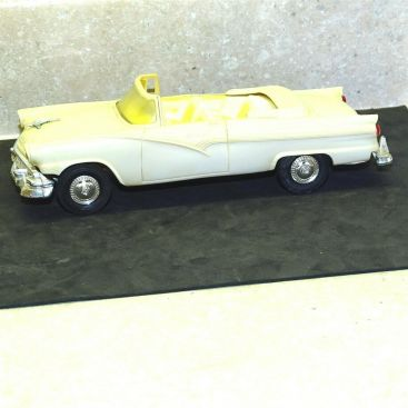 Vintage Plastic 1956 Ford Fairlane Sunliner Convertible Dealer Promo Car Main Image