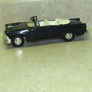 Vintage Plastic 1955 Ford Fairlane Sunliner Convertible Dealer Promo Car Main Image