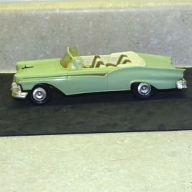 Vintage Plastic 1957 Ford Fairlane 500 Convertible Dealer Promo Car