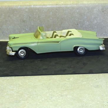 Vintage Plastic 1957 Ford Fairlane 500 Convertible Dealer Promo Car Main Image