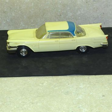 Vintage Plastic 1959 Chrysler New Yorker Dealer Promo Car, Jo-Hahn Main Image