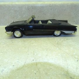 Vintage Plastic 1960 Ford Sunliner Convertible Dealer Promo Car