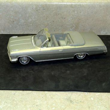 Vintage Plastic 1962 Chevrolet Impala Convertible Dealer Promo Car, Open Hood Main Image
