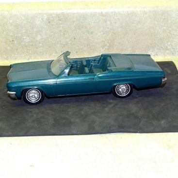 Vintage Plastic 1966 Chevrolet Impala SS Convertible Dealer Promo Car Main Image