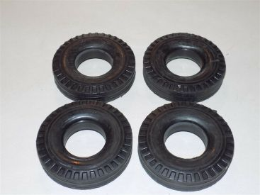Smith Miller MIC Highway Tread Replacement Set of 4 Tires Toy Part Main Image