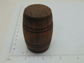 Single Smith Miller Wood Barrel Replacement Toy Part
