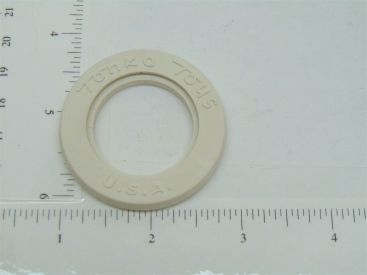 Single Tonka Whitewall Tire Insert Replacement Toy Part Main Image