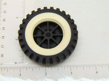 Single Tonka Plastic Wheels/Inserts Replacement Toy Parts Main Image