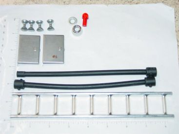 Tonka Pumper Fire Kit Replacement Toy Parts Set Ladder, Hoses, Flasher Main Image