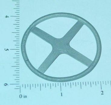 "Custom 4 Spoke 2"" Diameter Flat Steering Wheel Part Main Image"