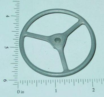 "Custom Cast 3 Spoke 2 1/8"" Diameter Steering Wheel Part Main Image"